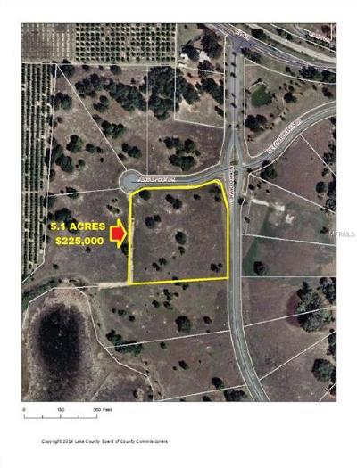 Astatula Residential Lots & Land For Sale: Grand Oak Lane