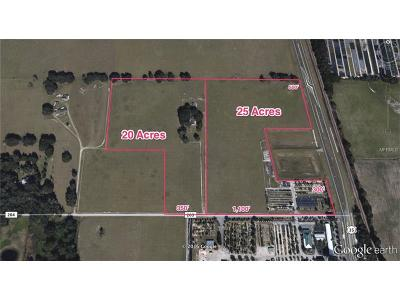Oxford Residential Lots & Land For Sale: 12556 N Us Highway 301
