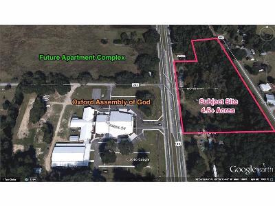 Oxford Residential Lots & Land For Sale: 12193 N Us 301 Highway