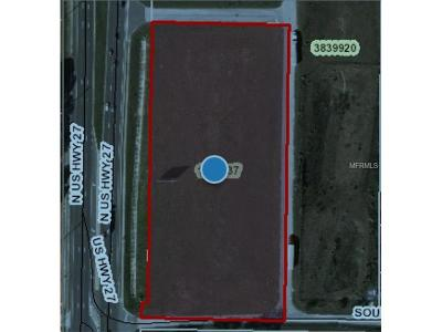 Minneola Residential Lots & Land For Sale: Highway 27