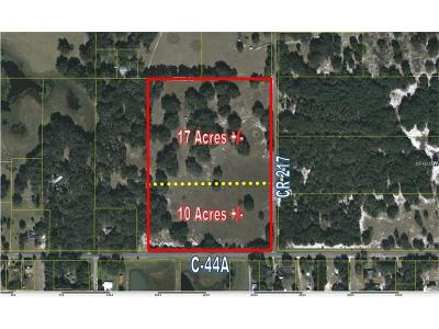 Residential Lots & Land Sold: 7658 County Road 217