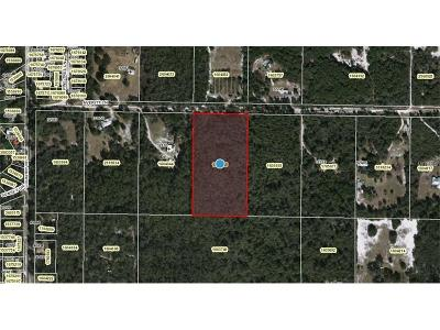 Lake County, Seminole County, Volusia County Residential Lots & Land For Sale: Averitt Lane