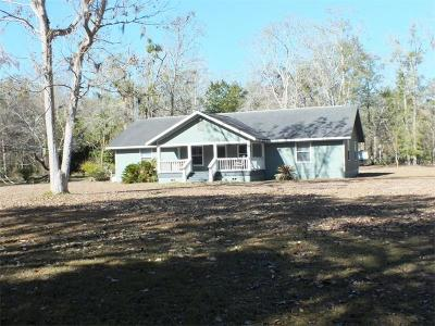 Levy County Single Family Home For Sale: 1841 County Road 326