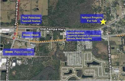 Kissimmee FL Residential Lots & Land For Sale: $5,500,000