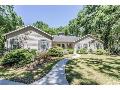 Ocala Single Family Home For Sale: 11160 17th Court Road
