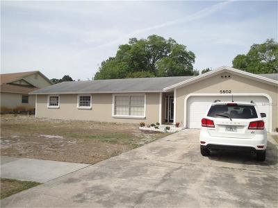 Single Family Home For Sale: 5802 Turkey Lake Road
