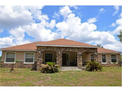Groveland Single Family Home For Sale: 2831 Empire Church Rd