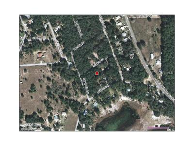 Marion County Residential Lots & Land For Sale: 0 SE 60th Street