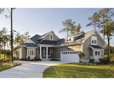 Eustis Single Family Home For Sale: Lot 106 Bear Den Drive