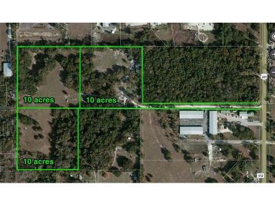Wildwood Residential Lots & Land For Sale: 3500 N Us Highway 301
