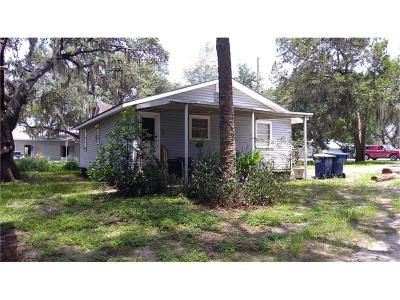 Mascotte Single Family Home For Sale: 117 W Myers Boulevard
