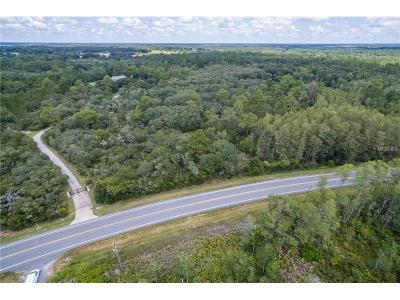 Eustis Residential Lots & Land For Sale: County Road 439