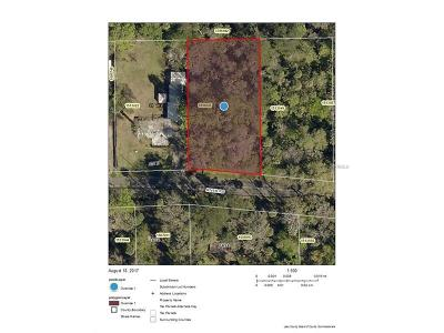 Lake County, Seminole County, Volusia County Residential Lots & Land For Sale: Lot 22 River Road