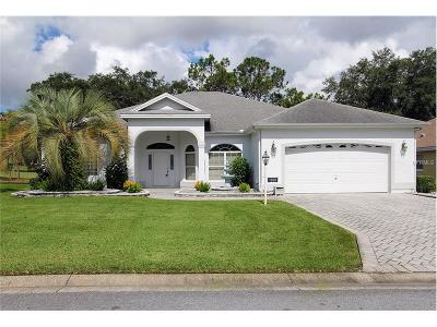 The Villages Single Family Home For Sale: 1208 Cabella Circle