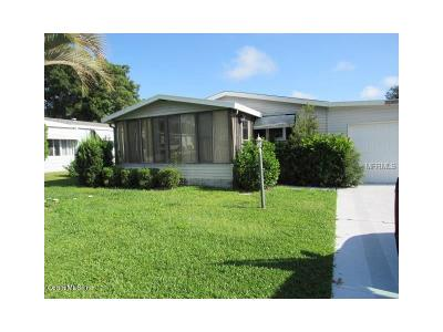 Lake County Mobile/Manufactured For Sale: 1738 Pebble Beach Lane