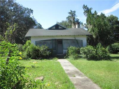 Eustis Single Family Home For Sale: 2030 E Washington Avenue