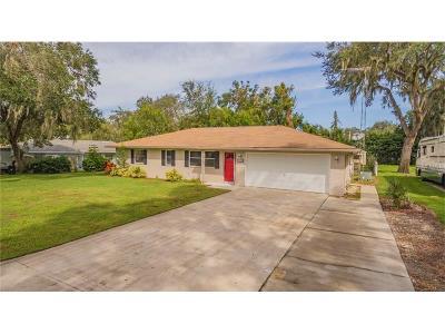 Fruitland Park Single Family Home For Sale: 5525 Oak Lane