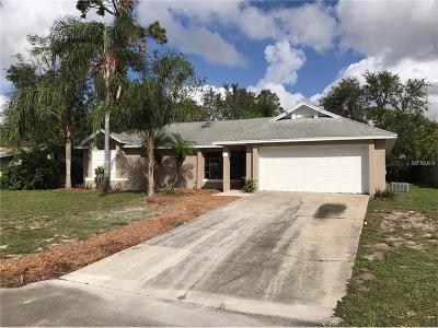Deltona Single Family Home For Sale: 3008 Hunkin Circle