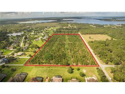 mount dora Residential Lots & Land For Sale: 7650 Dudley Avenue