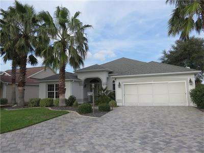 The Villages Single Family Home For Sale: 1637 Abernethy Place