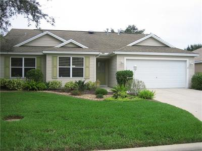 The Villages Single Family Home For Sale: 2187 Kaylee Drive
