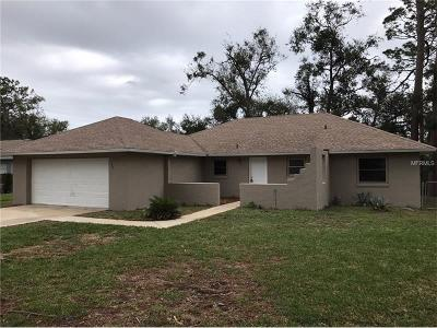 Ormond Beach Single Family Home For Sale: 323 Bostrom Lane