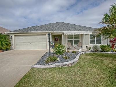 The Villages Single Family Home For Sale: 1743 Wax Berry Court