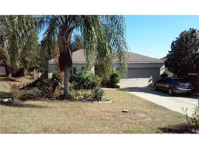 Clermont FL Single Family Home For Sale: $229,000