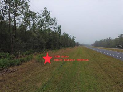 Levy County Residential Lots & Land For Sale: Us Hwy 19 N