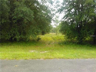Levy County Residential Lots & Land For Sale: NW 28th Lane