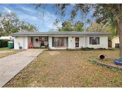 Eustis Single Family Home For Sale: 1605 Lake Nettie Drive