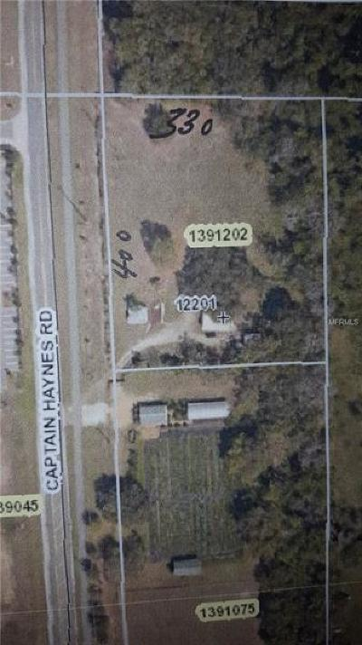 Tavares Residential Lots & Land For Sale: 12201 Woodlea Road