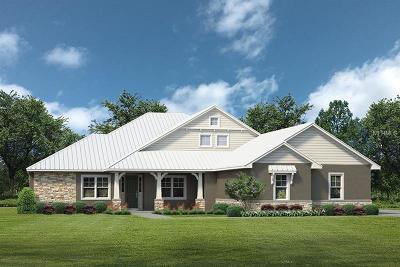 Single Family Home For Sale: Lot E1 Live Oak Dr