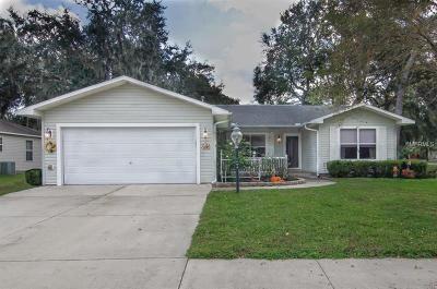 Lady Lake Single Family Home For Sale: 1208 Bower Lane
