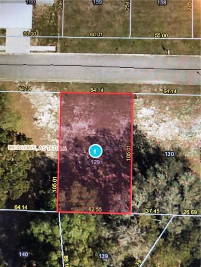 Astatula Residential Lots & Land For Sale: 14216 Morning Glory Way #128