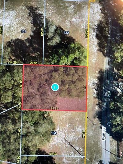 Astatula Residential Lots & Land For Sale: 25207 Fair Street #133