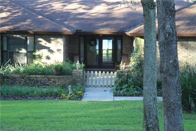 Lake County, Sumter County Single Family Home For Sale: 10551 Lakeshore Drive