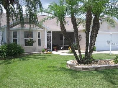The Villages Single Family Home For Sale: 3472 Carbondale Court