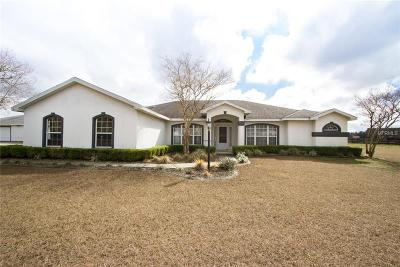 Ocala Single Family Home For Sale: 7350 NW 83rd Court Road