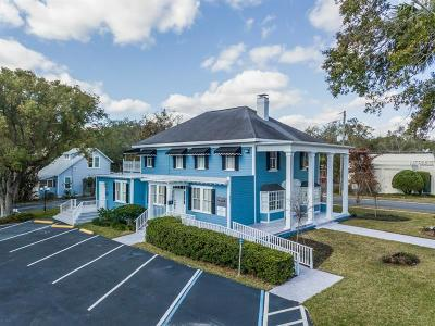 mount dora Commercial For Sale: 851 N Donnelly Street