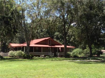 Groveland Single Family Home For Sale: 800 Sloans Ridge Road