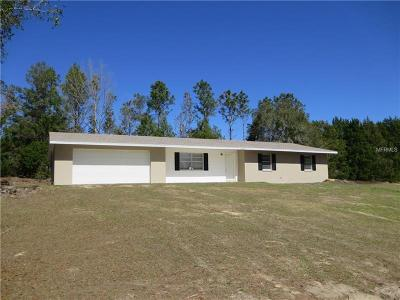 Single Family Home For Sale: 38010 Grays Airport Road