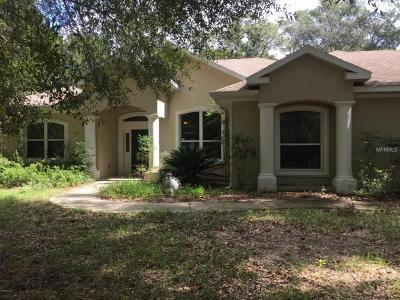 Ocala Single Family Home For Sale: 5325 129th Terrace Road