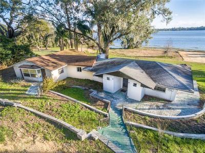 Mount Dora Single Family Home For Sale: 7672 Lake Ola Drive