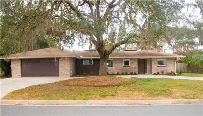 Mount Dora Single Family Home For Sale: 1945 Sunset Road