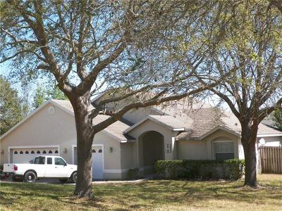 Clermont Single Family Home For Sale: 201 Willow Bend Drive