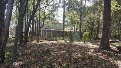 Howey In The Hills Single Family Home For Sale: 10742 Fischer Lake Road