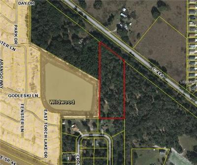 Wildwood Residential Lots & Land For Sale: 5731 Cr 173e