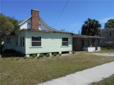 Eustis Single Family Home For Sale: 706 E Orange Avenue