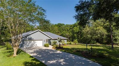 Lake County, Sumter County Single Family Home For Sale: 1200 Marshall Court